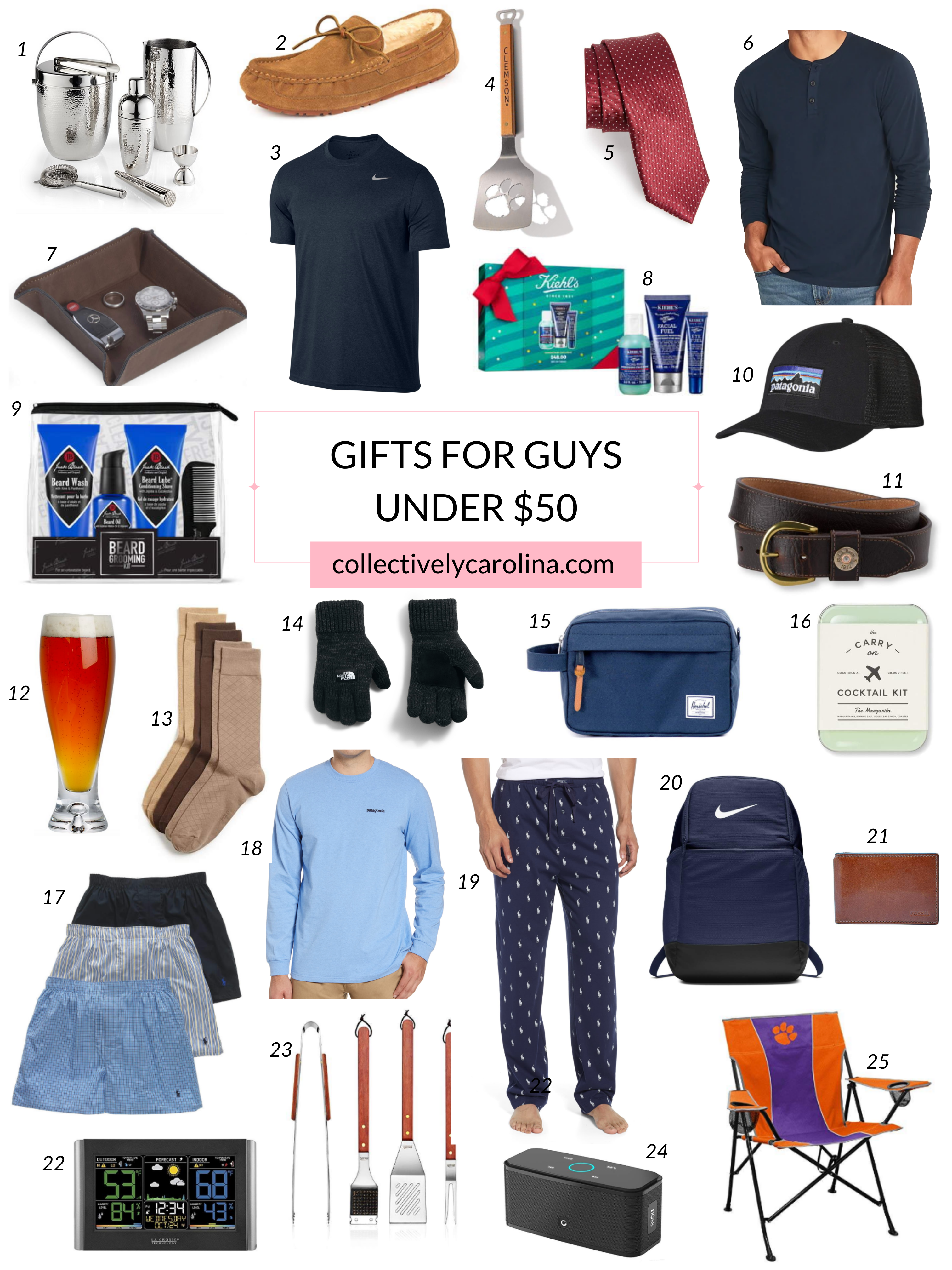 Gifts for Guys Under $50 • Collectively